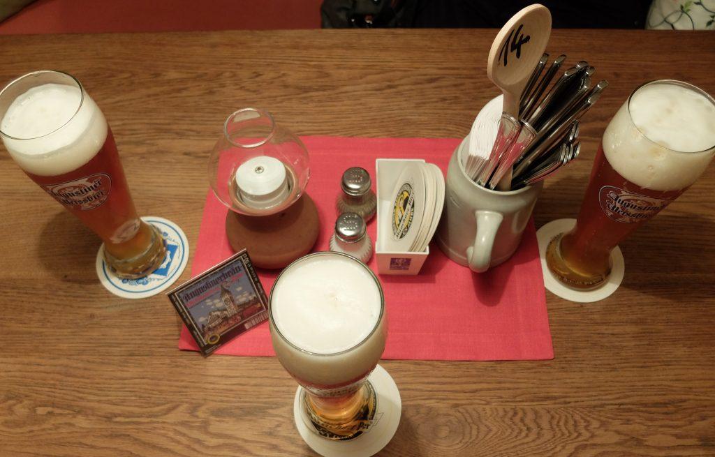 Cerveza Agustiner Weißbier (de trigo)