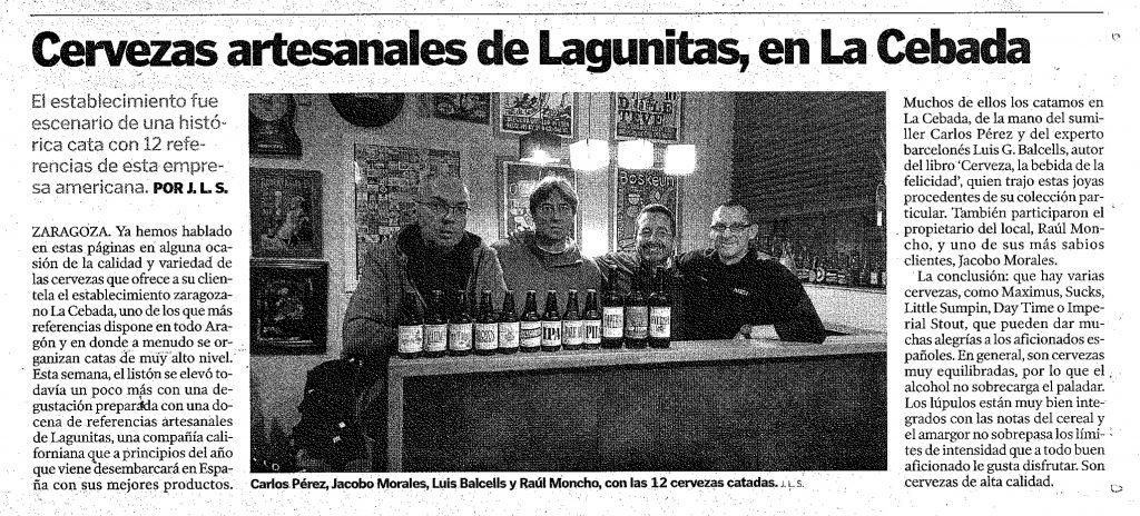 El Heraldo de Aragón 03/12/2016