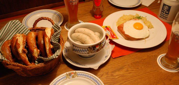 Weißwurstfrühstüc: El desayuno bávaro, una auténtica delicia.
