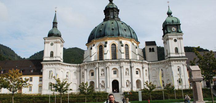 Abadía benedictina en Ettal, la cuna de la cervecera monacal Ettaler Klosterbrauerei.