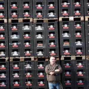 Palets de cajas de botellas Ettaler